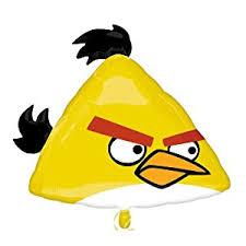 amazon yellow angry bird mylar balloon toys u0026 games