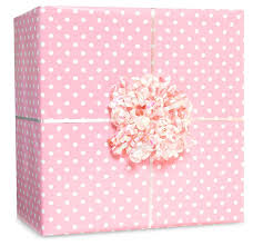 pink gift wrap classic small polka dot jumbo gift wrap party supply
