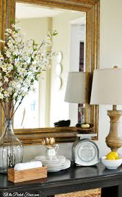 Spring Decorating Ideas For The Home Easy Budget Friendly Spring Decorating At The Picket Fence