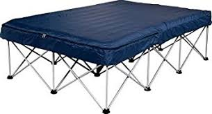 Air Bed With Frame Cabela Folding Air Bed Frame With Wheeled Storage Bag