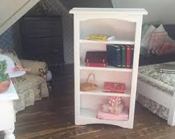 dollhouse bookcase etsy