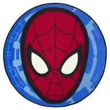 Superhero Rug Spiderman Ultimate City Shaped Rug Amazon Co Uk Kitchen U0026 Home