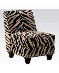 Zebra Accent Chair Deals On Makala 10070 24