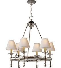 Ring Chandelier Comfort E F Chapman Classic Mini Ring Chandelier In Polished