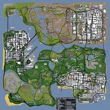 Fort Carson Map The Most Complete Gta San Andreas Weapons Items Map H7opolo