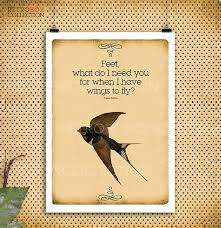 80 poster fly quotes birds flying frida kahlo