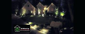 Wired Landscape Lighting Pretty Wired Landscape Lighting Photos