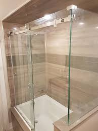 Glass Bathtub Enclosures Frameless Glass Showers U2014 Newmarket Glass Mobile