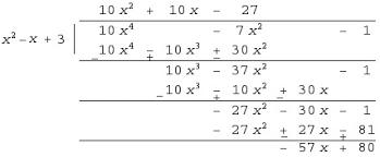dividing polynomials polynomial long division math tutorvista com