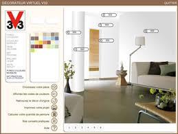 chambre virtuelle decorateur virtuel v33 pour couleur salon chambre cuisine salle de