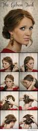 best 25 quick easy updo ideas on pinterest easy hair styles