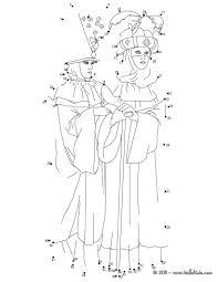 carnival of venice dot to dot game coloring pages hellokids com