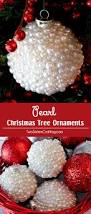 pearl christmas tree ornaments two sisters crafting
