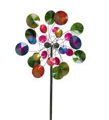 kaleidoscope metal wind spinner wind spinners whirligigs