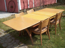 Mid Century Dining Table And Chairs Mid Century Dining Table Ebay