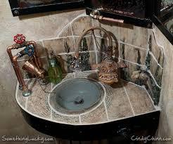 steampunk house interior bathroom design amazing steampunk house decor steampunk bathroom