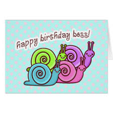 funny birthday for boss cards greeting u0026 photo cards zazzle