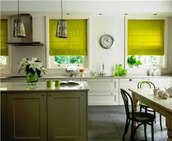 Lemon Kitchen Curtains by The Cool Lime Green Curtains