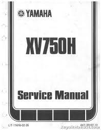 1981 1982 yamaha xv750 xv920 virago seca service manual