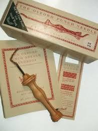 Antique Rug Hooking Tools Primitive Hooking Tools 157032 Sterling Handle Rug Hooking Hook