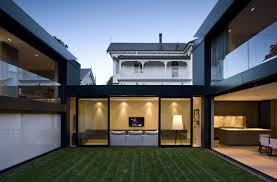 100 house with central courtyard u shaped one story house