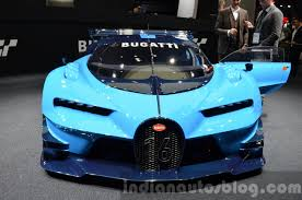 Bugatti Veyron Engine Price Bugatti Vision Gran Turismo Unveiled At Vw Group Night