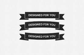 custom ribbon with logo free ribbon photoshop custom shapes best psd freebies