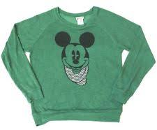 disney mickey mouse crewneck solid sweaters for ebay