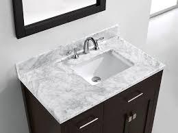 Bathroom Vanities Usa by Virtu Usa Ms 2136l Wmsq Es 36 Inch Caroline Parkway Single Square