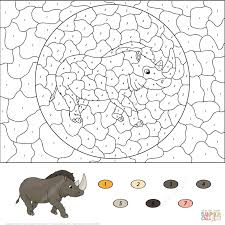 coloring number pages educations free color halloween
