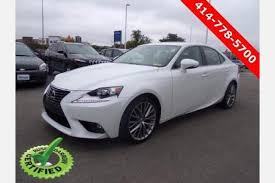 lexus wi used lexus is 250 for sale in milwaukee wi edmunds