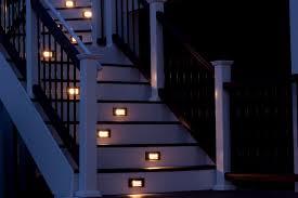 deck stair lights ideas gazebo decoration