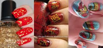 Chinese Art Design Inspiring Chinese New Year Nail Art Designs U0026 Ideas 2014