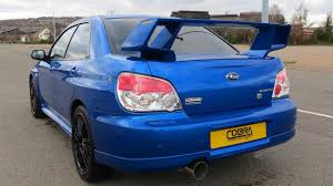 sporty subaru impreza subaru impreza performance exhaust by cobra sport exhausts youtube