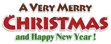 merry clip banner clipartpig