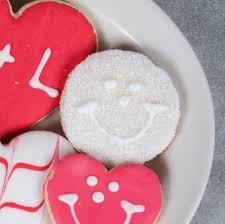 custom sugar coated individually wrapped mini wedding cookies