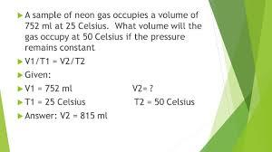 unit 8 gas laws ppt video online download