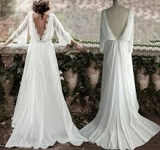 backless wedding dresses sleeve lace boho backless wedding dress flosluna flosluna