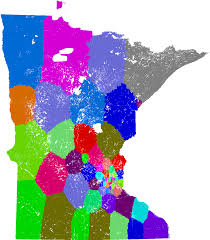 Wisconsin Assembly District Map by Minnesota Senate Redistricting