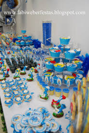 303 smurfs images birthday party ideas kid