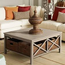 ingenious ways you can do with coffee table with storage baskets