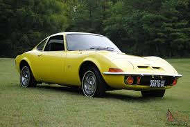 1970 opel cars opel gt original ca car 3rd owner auto sunburst yellow