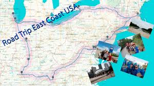 Usa West Coast Road Trip Maps by Road Trip East Coast Usa 2015 Youtube