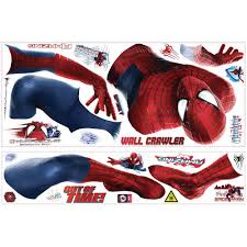 spiderman 2 giant wall decals kids stickers