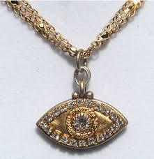 eye charm necklace images Gold evil eye necklace melissa gorga evil eye necklace jpg