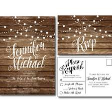 rustic chic wedding invitations best rustic invitation products on wanelo