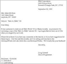 cover letter via email format