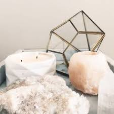 crystal decor salt l spiritual glamour how to use crystals and stones in your home to