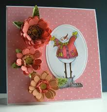 more quilled flowers cuttlebug by provo craft craft critique
