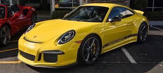 yellow porsche yellow porsche 911 r for sale in the us